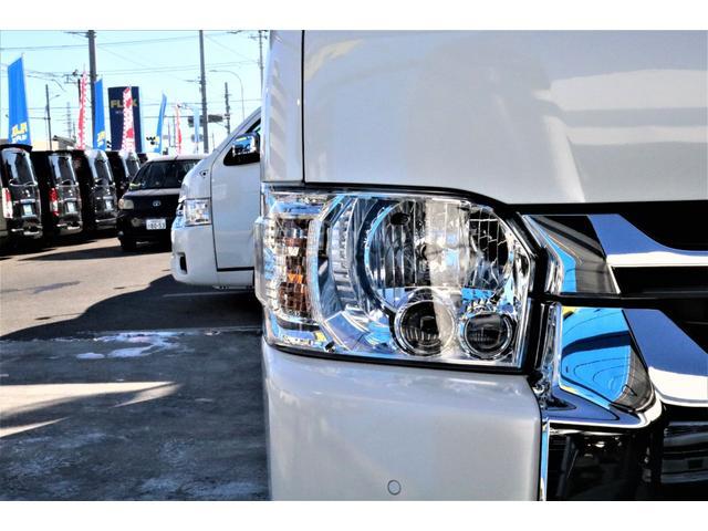 DX ワイド スーパーロング GLパッケージ パーキングサポート・オリジナルフロントスポイラー・オリジナルオーバーフェンダー・オリジナル17インチアルミホイール・グットイヤーナスカータイヤ・ローダウン1.15インチ・フローリング施工・LEDテール(58枚目)