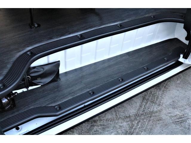 DX ワイド スーパーロング GLパッケージ パーキングサポート・オリジナルフロントスポイラー・オリジナルオーバーフェンダー・オリジナル17インチアルミホイール・グットイヤーナスカータイヤ・ローダウン1.15インチ・フローリング施工・LEDテール(74枚目)