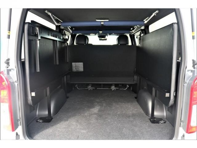 スーパーGL ダークプライムII ロングボディ パーキングサポート・PS無・オリジナル17インチアルミホイール・グッドイヤーナスカータイヤ・オリジナルフロントリップ・オリジナルオーバーフェンダー・ローダウン1.5インチ・7インチワイドナビ・ETC(15枚目)