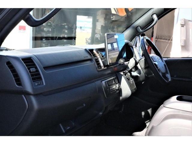 スーパーGL ダークプライムII パーキングサポート・小窓付き・オリジナルフロントスポイラー・オリジナル17インチアルミホイール・グッドイヤーナスカータイヤ・ローダウン1.5インチ・ローダウン用バンプラバー・アルパイン11インチナビ・(12枚目)