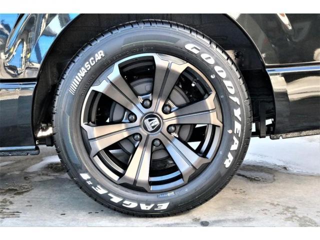 スーパーGL ダークプライムII パーキングサポート・小窓付き・オリジナルフロントスポイラー・オリジナル17インチアルミホイール・グッドイヤーナスカータイヤ・ローダウン1.5インチ・ローダウン用バンプラバー・アルパイン11インチナビ・(20枚目)