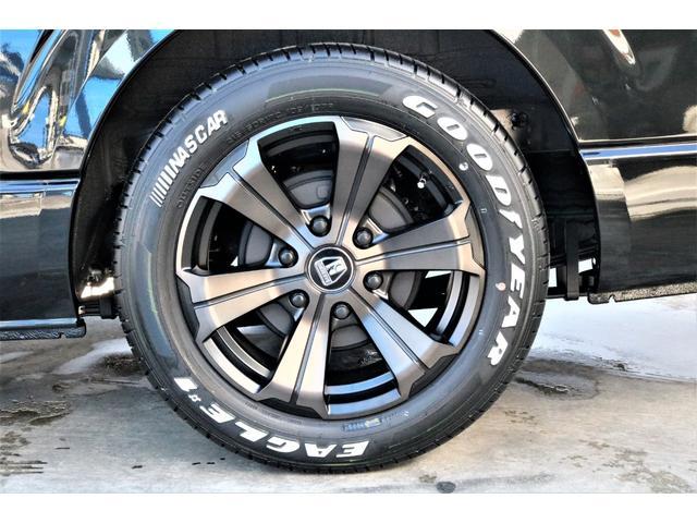 スーパーGL ダークプライムII パーキングサポート・小窓付き・オリジナルフロントスポイラー・オリジナル17インチアルミホイール・グッドイヤーナスカータイヤ・ローダウン1.5インチ・ローダウン用バンプラバー・アルパイン11インチナビ・(26枚目)