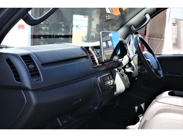 スーパーGL ダークプライムII パーキングサポート・小窓付き・オリジナルフロントスポイラー・オリジナル17インチアルミホイール・グッドイヤーナスカータイヤ・ローダウン1.5インチ・ローダウン用バンプラバー・アルパイン11インチナビ・(36枚目)