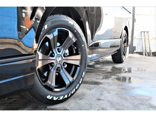 スーパーGL ダークプライムII パーキングサポート・小窓付き・オリジナルフロントスポイラー・オリジナル17インチアルミホイール・グッドイヤーナスカータイヤ・ローダウン1.5インチ・ローダウン用バンプラバー・アルパイン11インチナビ・(64枚目)