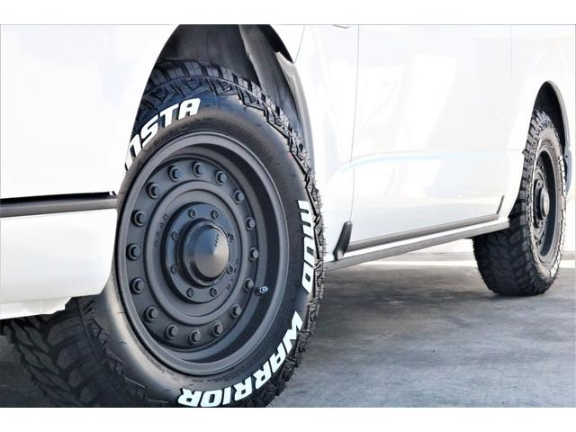 GL ハイエースワゴンGL・4WD・オリジナル内装架装Ver1・ノーマル車高・16インチアルミホイール・モンスタータイヤ・新型・6型ハイエース・ナビ・ETC・フリップダウンモニター・オリジナルシートカバー(27枚目)