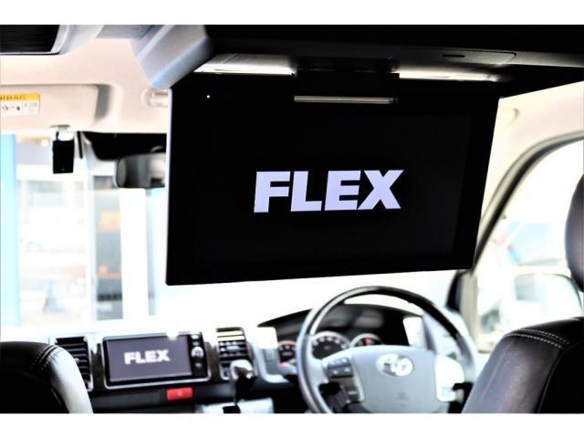 ハイエースバン・スーパーGL・ダークプライム・100V電源・TRDフロントスポイラー・FLEX16インチアルミホイール・トーヨーオープンカントリータイヤ・純正ナビ・ETC2.0・オリジナルLEDテール(13枚目)