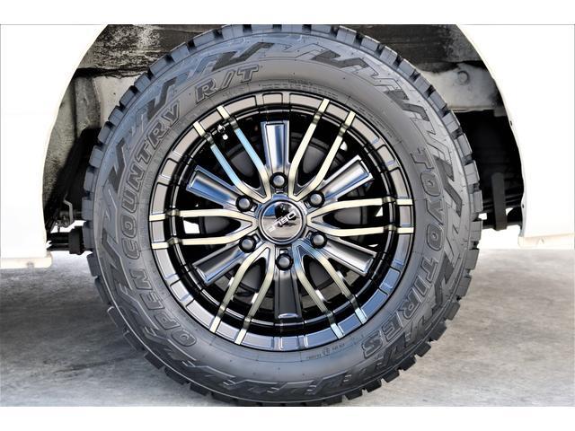 ハイエースバン・スーパーGL・ダークプライム・100V電源・TRDフロントスポイラー・FLEX16インチアルミホイール・トーヨーオープンカントリータイヤ・純正ナビ・ETC2.0・オリジナルLEDテール(38枚目)