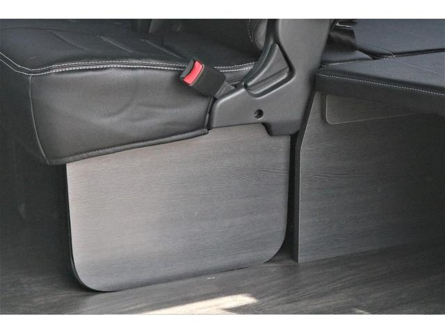 GL パーキングサポート・ハイエースワゴンGLロング・内装架装ベッドキット・フローリング施工・インテリアパネルセット・ローダウン1.15インチ・ローダウン用バンプストップ・16インチアルミホイール・ナスカー(49枚目)