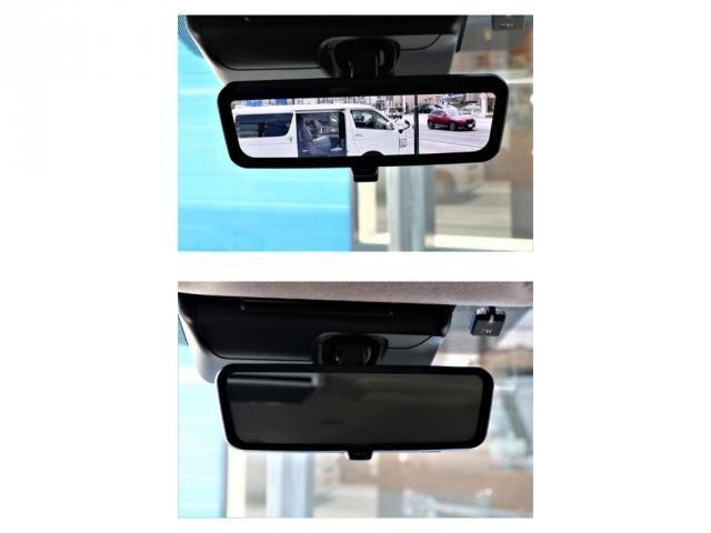GL ロング パーキングサポート・ハイエースワゴン・パノラミックビューモニター・デジタルインナーミラー・オリジナルシートカバー・オリジナルzeroワゴンベッドキット・7インチワイドナビ・ETC・後席用モニター(6枚目)