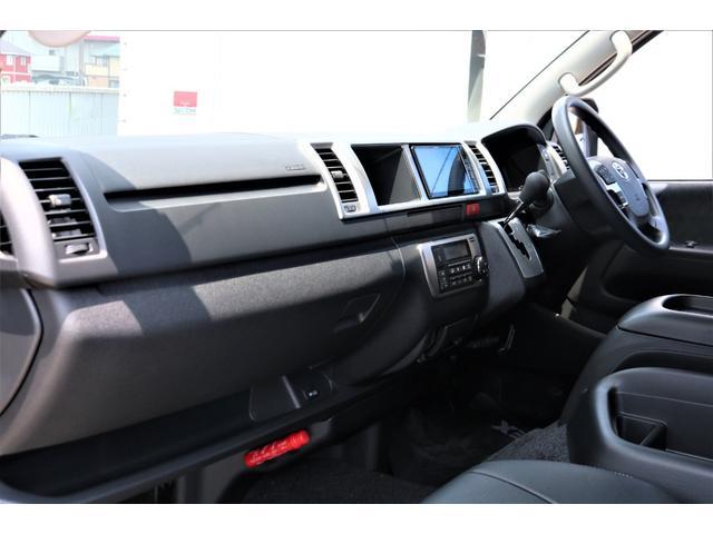 GL ロング パーキングサポート・ハイエースワゴン・パノラミックビューモニター・デジタルインナーミラー・オリジナルシートカバー・オリジナルzeroワゴンベッドキット・7インチワイドナビ・ETC・後席用モニター(47枚目)