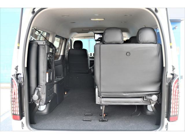 GL ロング パーキングサポート/PVM/6型・10人のり・シートカバー・フットパネル・7インチワイドナビ・後席用フリップダウンモニター・ビルトインETC・オリジナル17インチアルミホイール(72枚目)