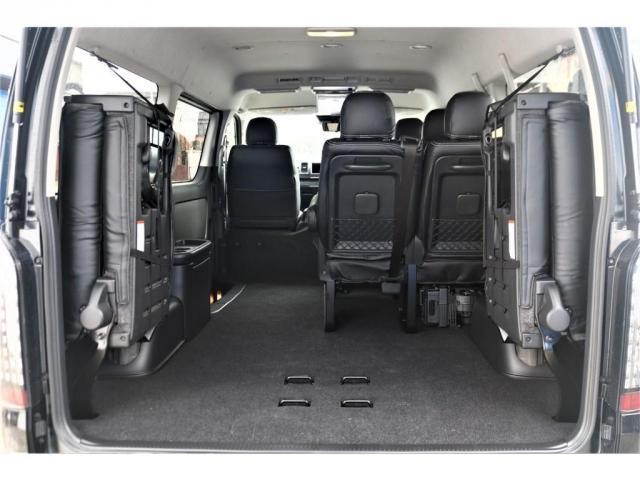 GL パーキングサポート・パノラミックビューモニター・ミドルルーフ・4WD・ベースシート・ファミリーパッケージ・ナビ・ETC・フリップダウンモニター・インテリアパネルセット・オリジナルシートカバー・(13枚目)