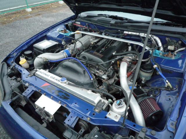 日産 シルビア スペックR TD06タービン 6MT→5MT CPU現車合せ