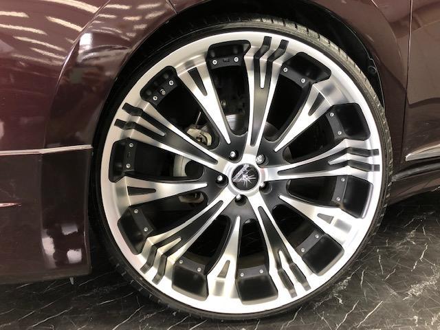エレガンス 4WD モデリスタ 24インチAW 黒革半シート(17枚目)