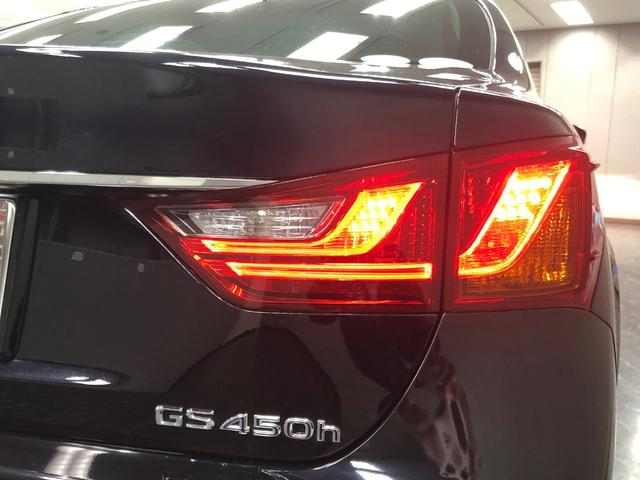 GS450h Iパッケージ 3眼LEDヘッドランプ HUD(18枚目)
