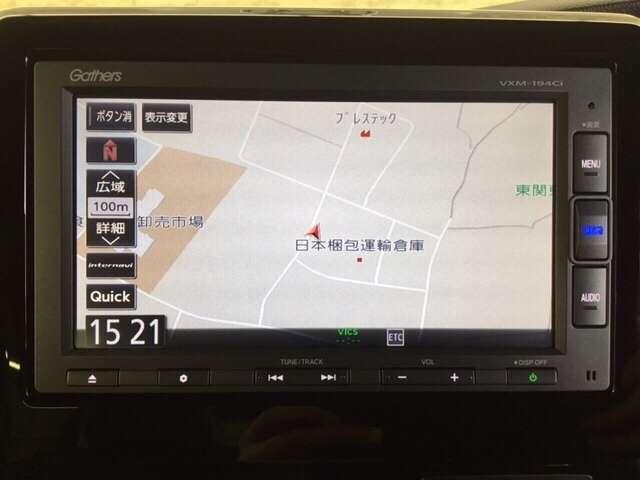 G・EXターボホンダセンシング 純正メモリーナビ ETC L(7枚目)
