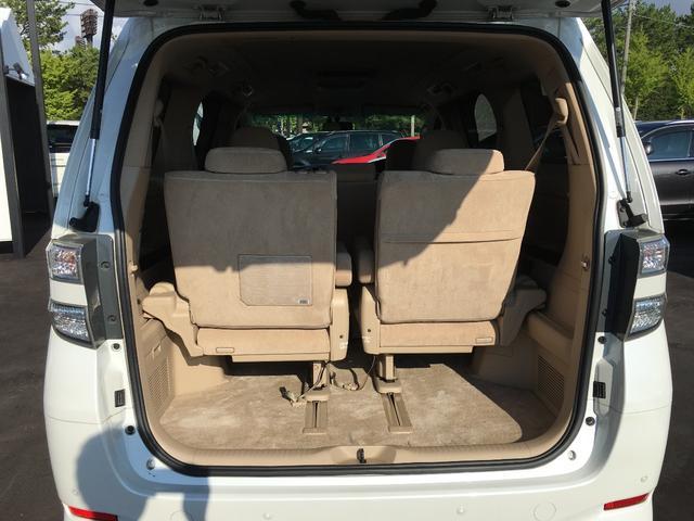 トヨタ ヴェルファイア 3.5V 純正HDDナビ 純正AW 両側電動スライドドア