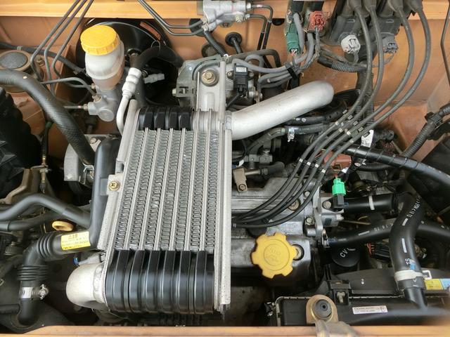 スバル プレオ RS スーパーチャージャー  アルミホイール