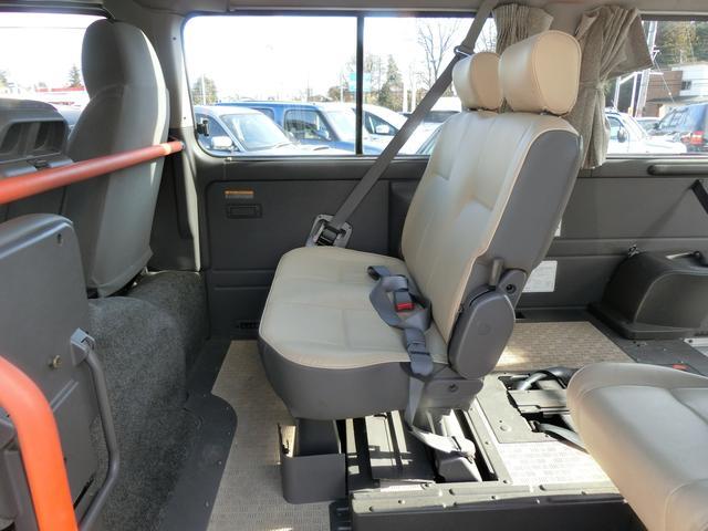 日産 キャラバンマイクロバス SロングGX 福祉車両 車椅子電動リフト 固定装置2基
