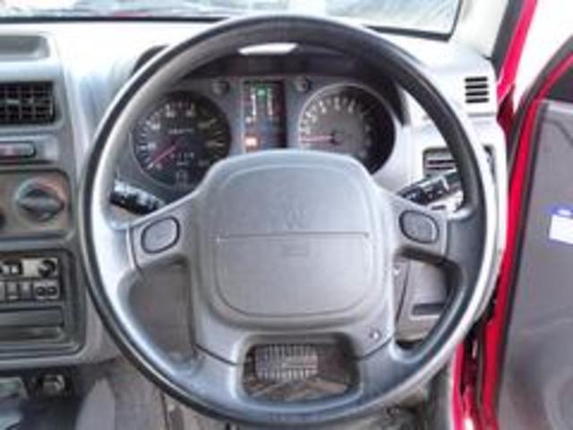 XR-II タイミングベルト交換済み パートタイム4WD 修復歴無し 背面タイヤ フロア3AT 運転席エアバック  パワーウィンドウ パワーステアリング(16枚目)
