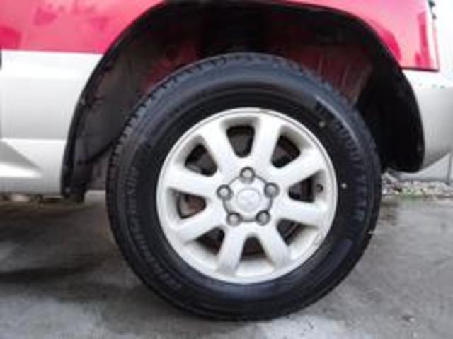 XR-II タイミングベルト交換済み パートタイム4WD 修復歴無し 背面タイヤ フロア3AT 運転席エアバック  パワーウィンドウ パワーステアリング(19枚目)