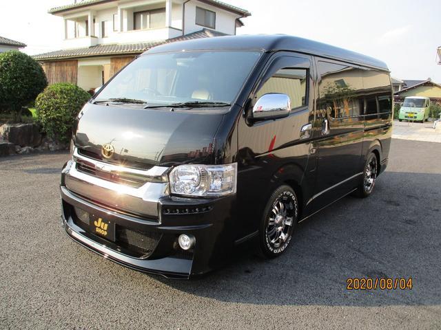 スーパーGL ダークプライムII VIPカー 8人乗り ローダウン LEDライト(9枚目)