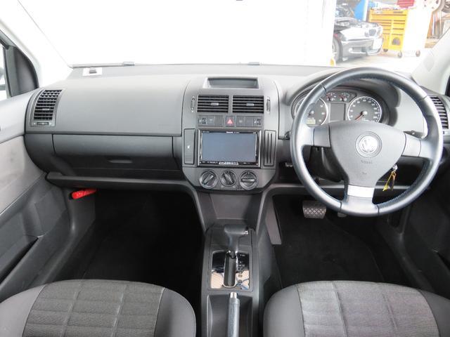 フォルクスワーゲン VW ポロ 1.4 コンフォートライン 社外HDDナビ ETC