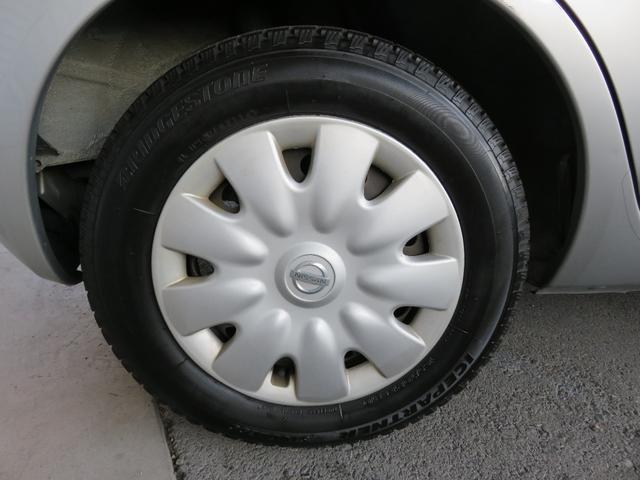 日産 マーチ 12C 走行13,000キロ キーレス 新品Nタイヤ付き