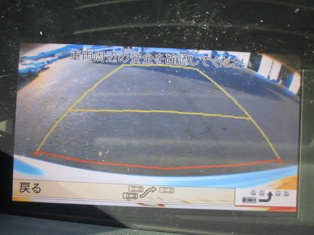 バックモニターです!!バック駐車が苦手な方でもスムーズに止める事ができます!!カメラの画質も良好なので綺麗に写ります!!