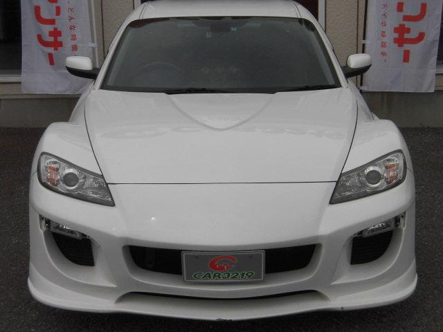 マツダ RX-8 タイプRS スマートキー 車高調 レカロ HDDナビ 地デジ