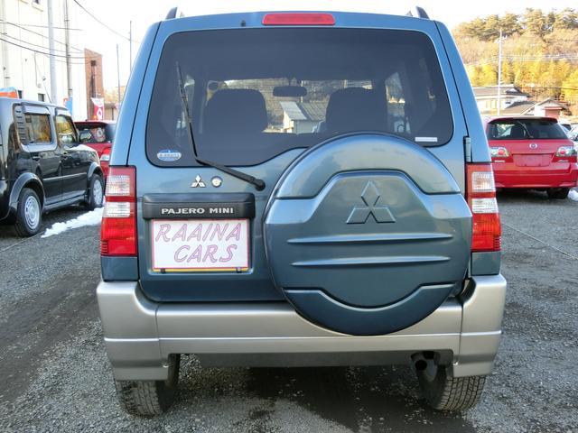 三菱 パジェロミニ VR-S4WD エンジンスターターETC ターボ ABS