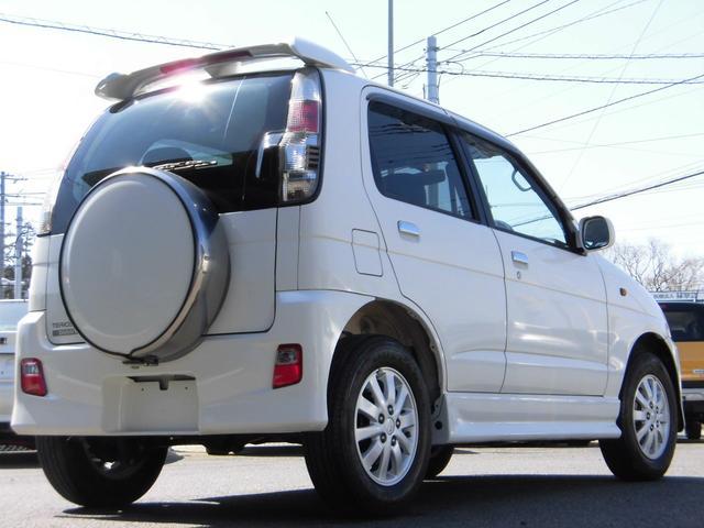 ダイハツ テリオスキッド カスタムL  4WD 5速MT 純正エアロ