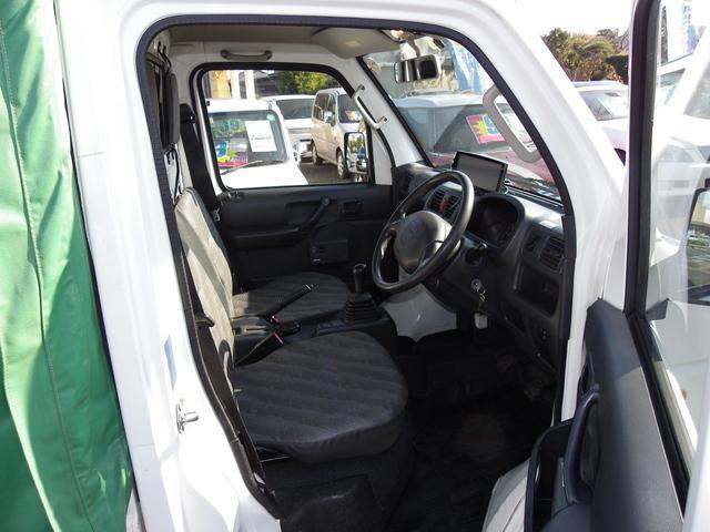 KCスペシャル軽トラック4WDMT幌付エアコンパワステ深谷市(4枚目)