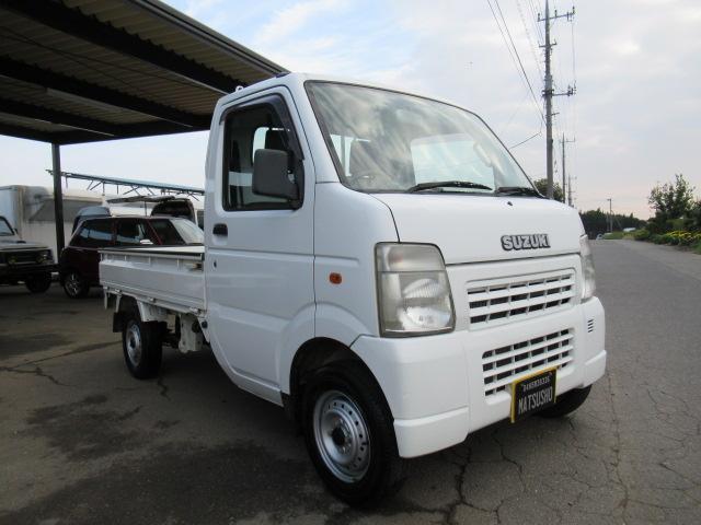 KCエアコン・パワステ 5速マニュアル 4WD(4枚目)