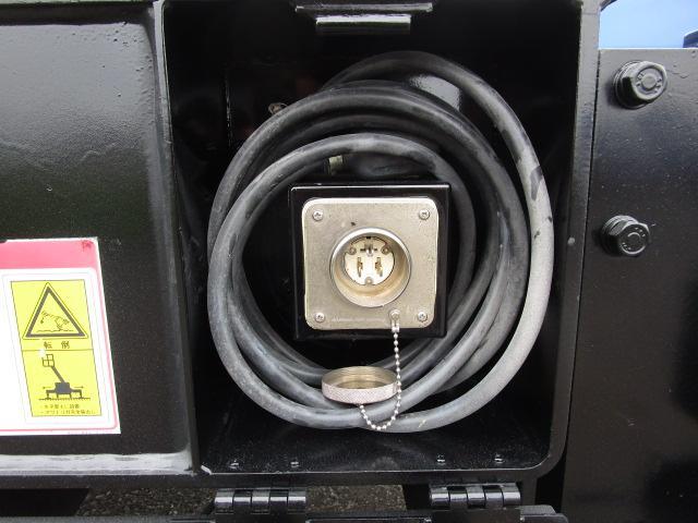 ★後部AC100V取入口・コード付