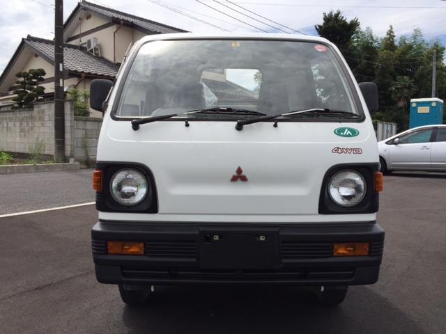 三菱 ミニキャブトラック 4WD MT JA仕様 実走行距離 ワンオーナー車