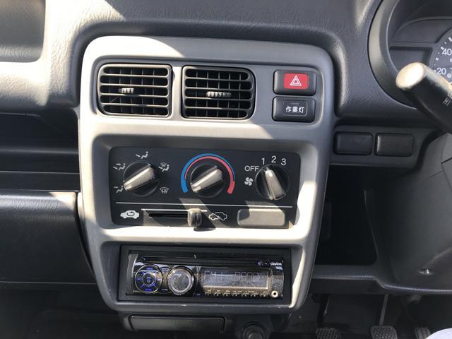 SDX 4WD 5MT パワステ 3方開 エアバッグ作業灯(18枚目)
