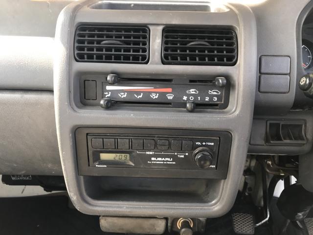 4WD 5速MT アクセサリーソケット ラジオ 3方開(18枚目)