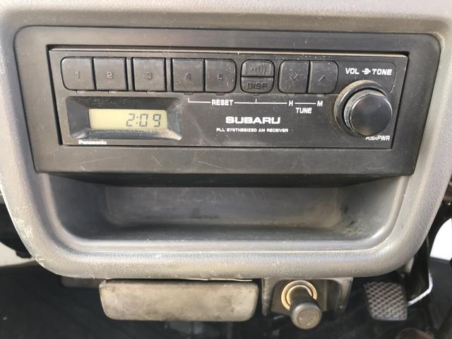 4WD 5速MT アクセサリーソケット ラジオ 3方開(20枚目)