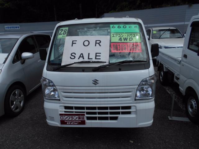 スズキ キャリイトラック 農繁スペシャル パワステ マニュアルエアコン 4WD