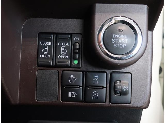 運転席からも操作できる両側パワースライドドア付きです