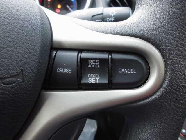 クルーズコントロール機能付☆長距離ドライブもラクラクです!