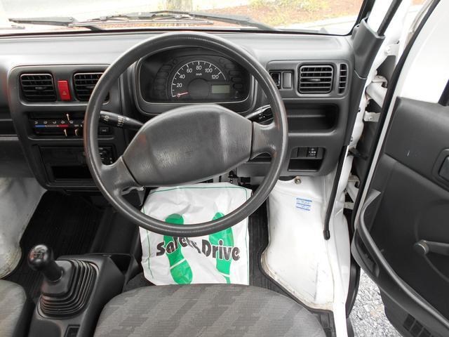 KCエアコン・パワステ 2WD 5MT ワンオーナー車(8枚目)