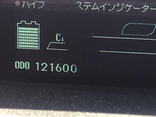 走行距離は121600kmになります。