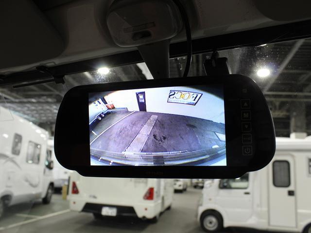 軽キャンパー インディアナRV インディ727 4WD サブバッテリー 走行充電 400Wインバーター 外部電源 ソーラーパネル コンビロールポップアップルーフ FFヒーター SDナビ フルセグ ETC ミラー型モニター(37枚目)