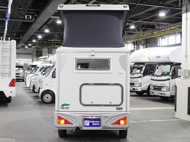 軽キャンパー インディアナRV インディ727 4WD サブバッテリー 走行充電 400Wインバーター 外部電源 ソーラーパネル コンビロールポップアップルーフ FFヒーター SDナビ フルセグ ETC ミラー型モニター(45枚目)