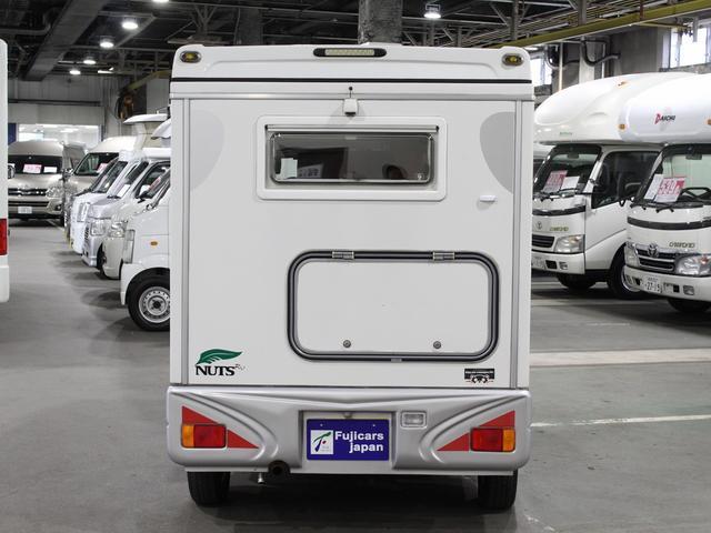 軽キャンパー インディアナRV インディ727 4WD サブバッテリー 走行充電 400Wインバーター 外部電源 ソーラーパネル コンビロールポップアップルーフ FFヒーター SDナビ フルセグ ETC ミラー型モニター(46枚目)