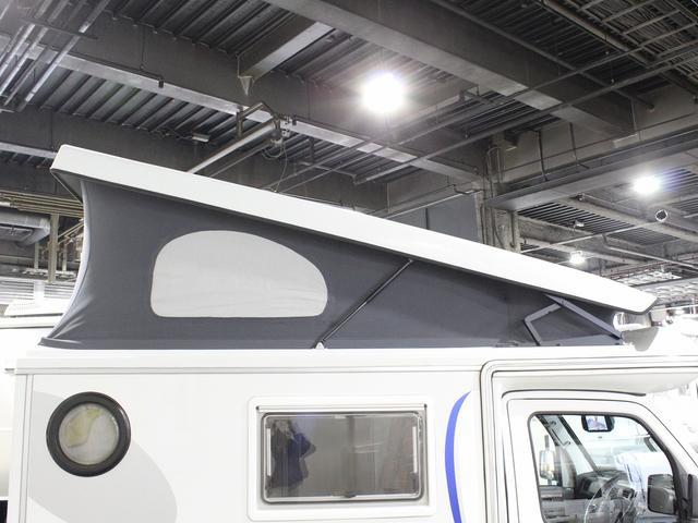 軽キャンパー インディアナRV インディ727 4WD サブバッテリー 走行充電 400Wインバーター 外部電源 ソーラーパネル コンビロールポップアップルーフ FFヒーター SDナビ フルセグ ETC ミラー型モニター(53枚目)