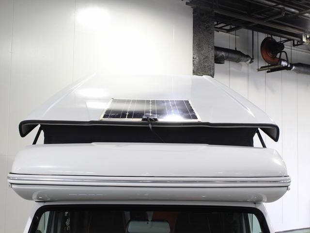 軽キャンパー インディアナRV インディ727 4WD サブバッテリー 走行充電 400Wインバーター 外部電源 ソーラーパネル コンビロールポップアップルーフ FFヒーター SDナビ フルセグ ETC ミラー型モニター(54枚目)