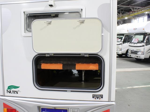 軽キャンパー インディアナRV インディ727 4WD サブバッテリー 走行充電 400Wインバーター 外部電源 ソーラーパネル コンビロールポップアップルーフ FFヒーター SDナビ フルセグ ETC ミラー型モニター(59枚目)